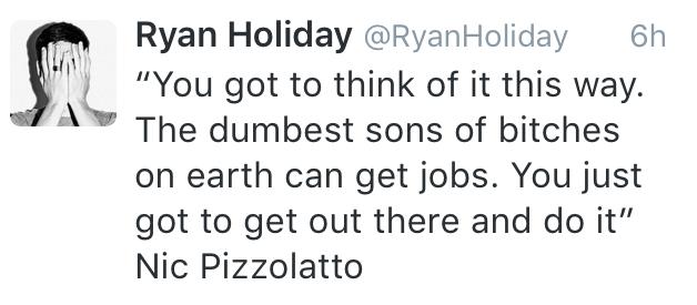 ryan holiday job