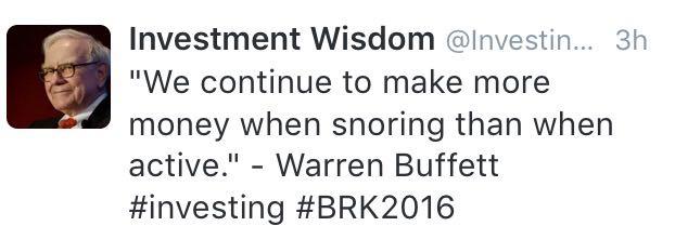 buffettsnoring